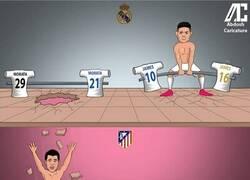 Enlace a ¿Se marcará James un 'Morata'? Por @abdoshcaricature