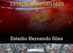 Enlace a Repasamos uno de los estadios más infernales que puedes visitar en el Mundo: El Hernando Siles de La Paz.