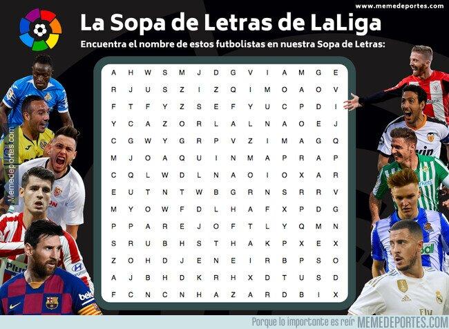 1106163 - La Sopa de la Letras de LaLiga