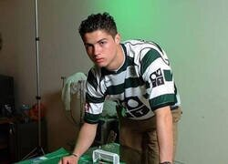Enlace a Cristiano Ronaldo antes de conquistar el mundo