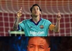 Enlace a Cuando ves nuevamente a Messi celebrando un gol