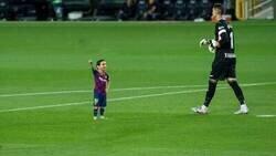 Enlace a Messi chiquito vs Alavés