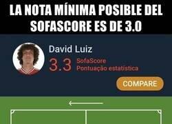 Enlace a Lo de David Luiz es histórico