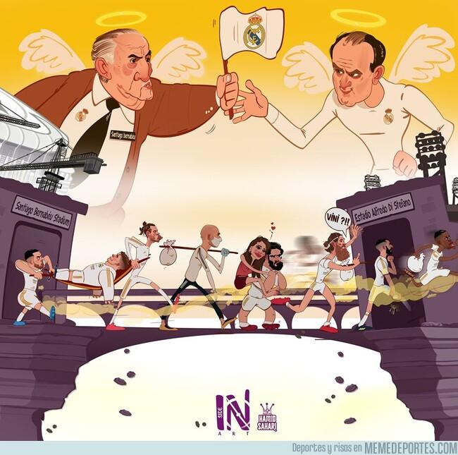 1106876 - El Real Madrid de mudanza