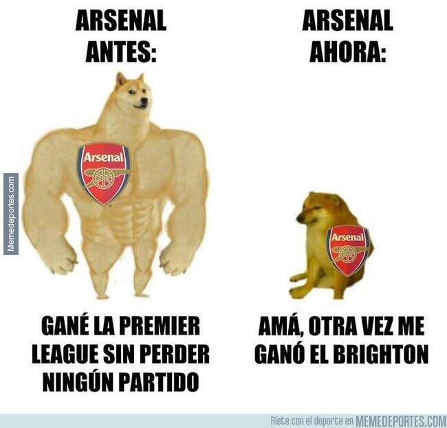1107047 - Cada día más triste el Arsenal