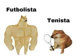 Enlace a Futbolista vs tenista