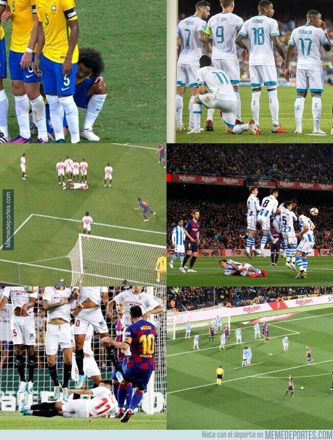 1107142 - El pavor de un tiro libre de Messi
