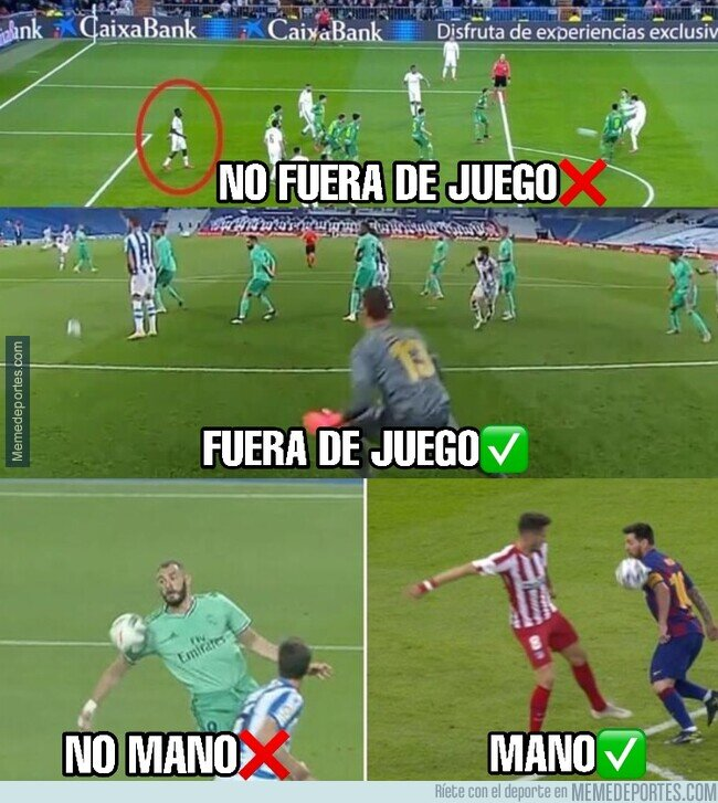 1107304 - No favorecen al Madrid, para nada