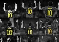 Enlace a Hoy cumple años el mejor de todos. Leo Messi.