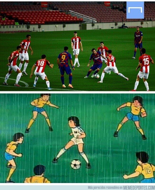1107425 - Messi volvió a hacer de Oliver, por @goalglobal