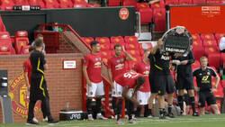 Enlace a Imagen histórica: Manchester United es el primer equipo en hacer 5 cambios al mismo tiempo en la historia