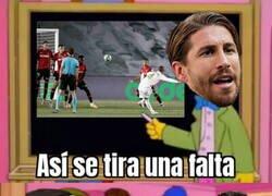 Enlace a ¿Ramos debería haber tirado las faltas en el Madrid mucho antes?
