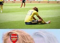 Enlace a Se lesionó David Luiz, que mal... ¿no?