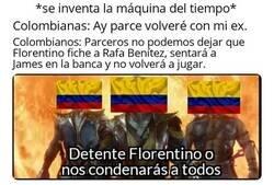 Enlace a Colombianos salvando a James