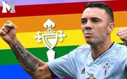 Enlace a El ZASCA monumental del Celta de Vigo a un intolerante que se quejó tras poner la bandera LGTB el club vigués