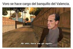 Enlace a El Valencia recurre a Voro por sexta vez