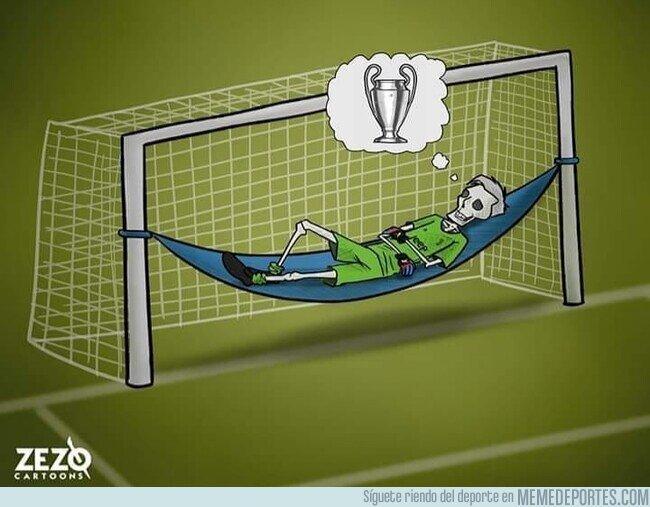 1108050 - Buffon renueva con la Juve una temporada más en busca de su sueño, por @zezocartoons