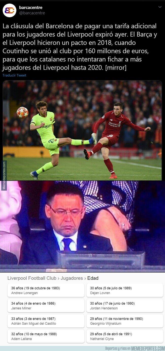 1108245 - Ha expirado una importante clausula entre el Liverpool y el Barça