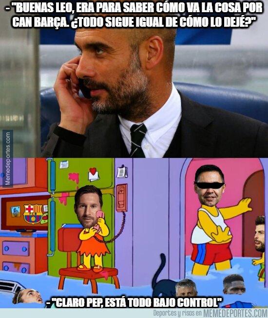 1108321 - La situación actual en Can Barça