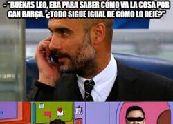 Enlace a La situación actual en Can Barça