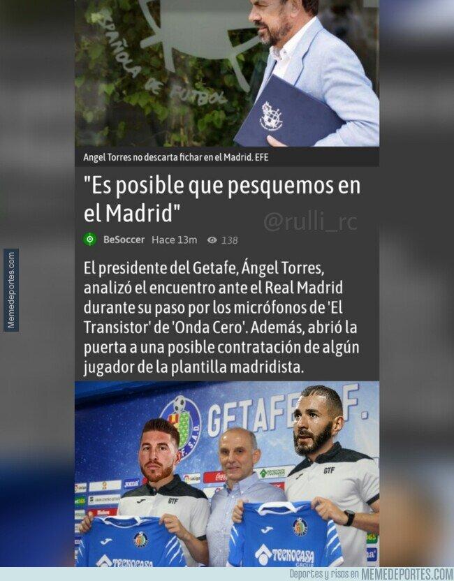 1108369 - El Getafe avisa al Madrid