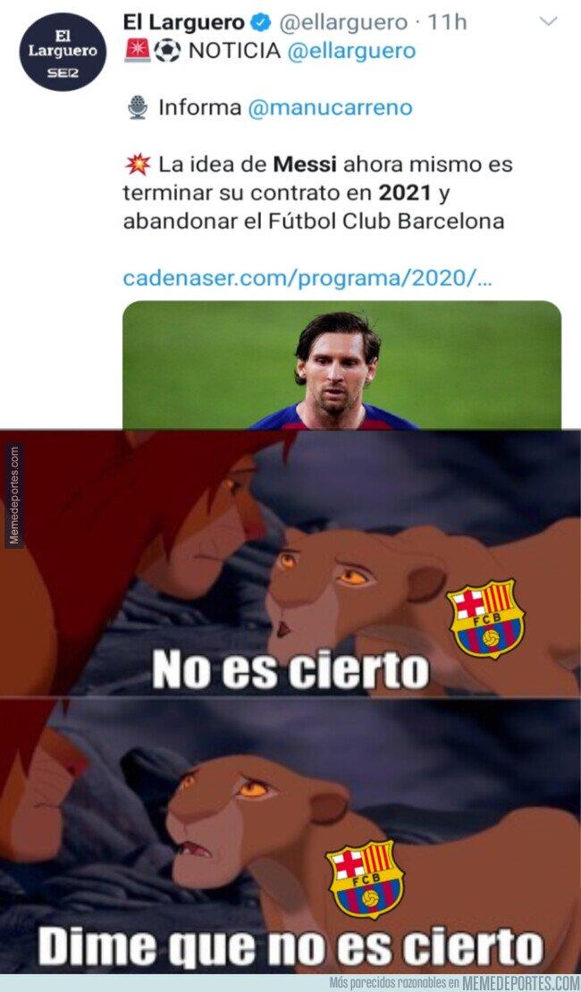 1108398 - ¿Estamos ante el final de la carrera de Messi?