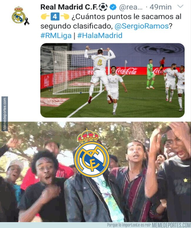 1108414 - La troleada al Barça del CM del Madrid