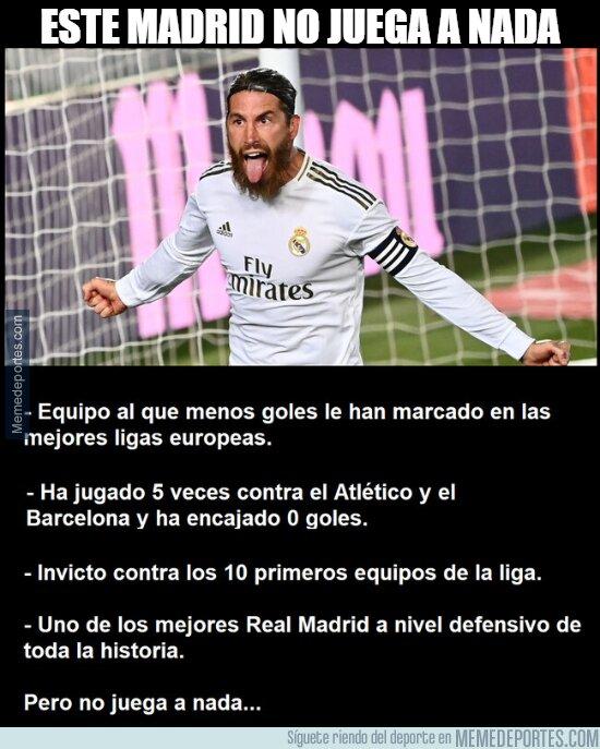 1108463 - Dicen que el Madrid no juega a nada
