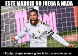 Enlace a Dicen que el Madrid no juega a nada