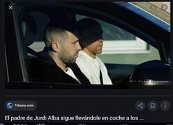 Enlace a Jordi Alba se saca el carnet de conducir después de vivir todo esto