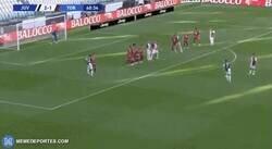 Enlace a Y 2 años despues, Cristiano por fin mete un gol de tiro libre