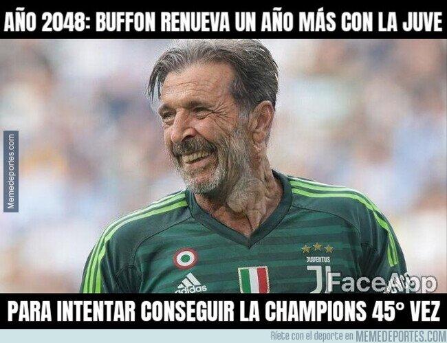 1108516 - Buffon no va a parar nunca