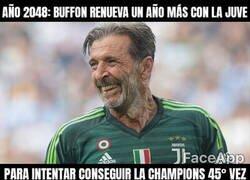 Enlace a Buffon no va a parar nunca