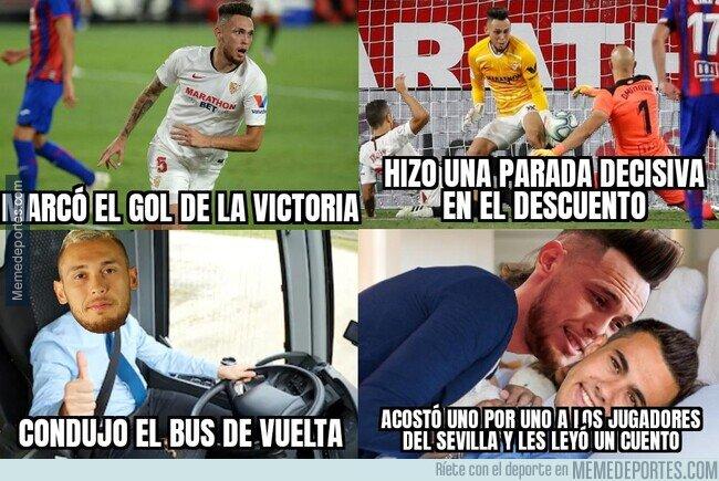 1108779 - Todo lo que hizo Ocampos el día en el que el Sevilla se jugaba certificar la Champions
