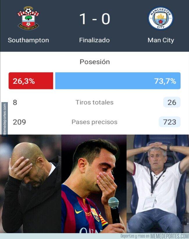 1108791 - Otro fiasco del fútbol de posesión
