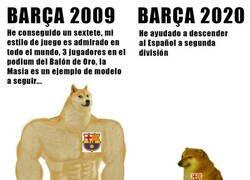Enlace a Barça 2009 vs Barça 2020