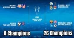 Enlace a Todas las Copas de Europa se han ido a un lado del cuadro