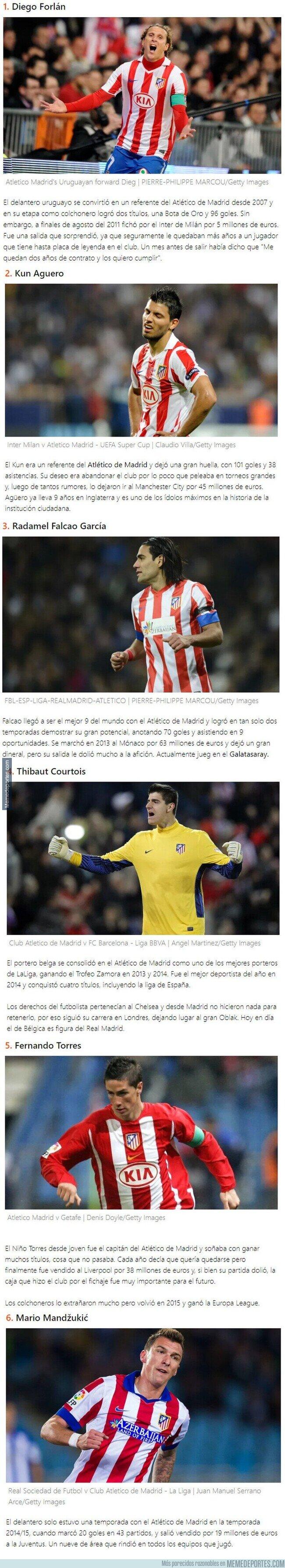 1109226 - 6 cracks que el Atlético de Madrid se arrepintió de haber dejado salir