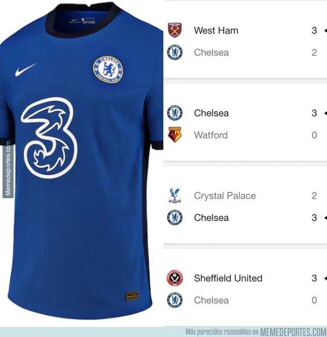 1109242 - El Chelsea desde que anunció el 3 en su camiseta