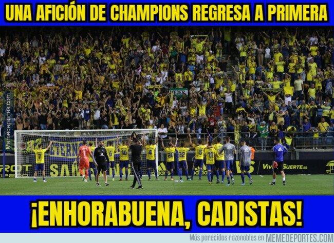 1109305 - ¡El Cádiz vuelve a primera división!