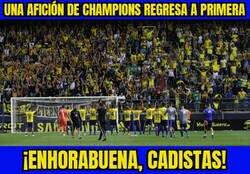 Enlace a ¡El Cádiz vuelve a primera división!