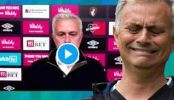 Enlace a Mourinho pierde la paciencia por completo en rueda de prensa por culpa de la tecnología