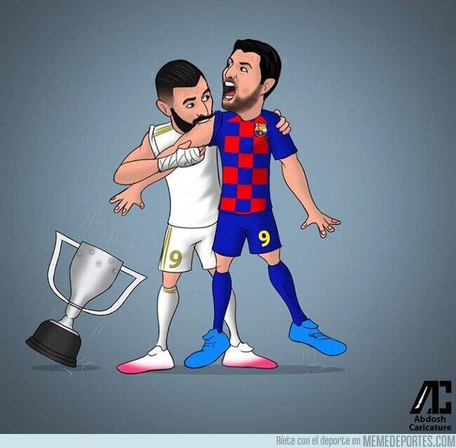 1109564 - El Madrid muerde LaLiga al Barça, por @abdoshcaricature
