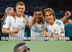 Enlace a Modric, Kroos y Casemiro con un hito muy importante