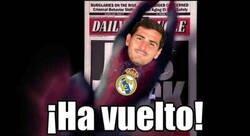 Enlace a Casillas regresa al Real Madrid