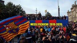 Enlace a El Barça no se queda sin ir a canaletas