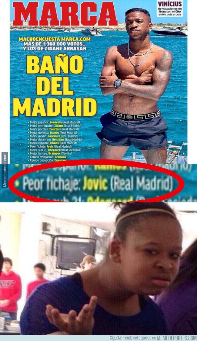 1110210 - El Madrid arrasa de tal manera que se lleva hasta los premios negativos
