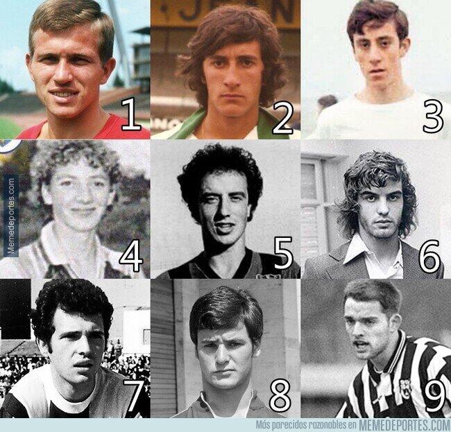 1110339 - Grandes entrenadores en su época más joven. ¿Sabes quien es quien?