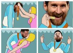 Enlace a ¿Messi el mejor de todos los tiempos?