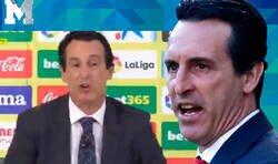 Enlace a Unai Emery empieza a ser carne de memes por decir esto en la rueda de prensa de la presentación en Villarreal